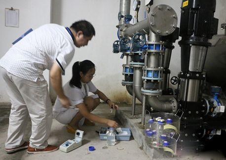 二次供水水质检测